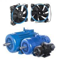 Вентиляторы, электродвигатели